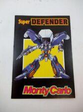 80's Mark Select Convertors Super Defender Monty Carlo Tech Card Diaclone Gobots