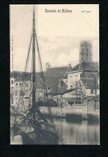 Belgium Flanders MALINES MECHELEN La Dyle sail boat c1900s u/b PPC pub by Nels