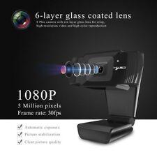 HD Webcam For Smart TV Box Desktop Laptops Auto Focus 1080P Drive-less Camera
