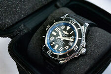 Breitling Superocean 42 Blue A1736402 Automatic 42mm Watch  Rubber Dial Used