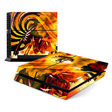 Skin Decal Cover Sticker for Sony PlayStation 4 PS4 - Naruto Shippuden 2