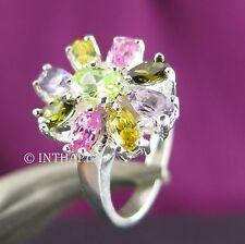 Echte Edelstein-Ringe mit Fantasie für Damen