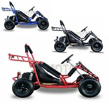 1000W48V Powered safety Electric 3 speed Off Road Go Kart for Kids toy FreePost