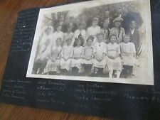 Class Pictures1900 1910 1920s Vintage Old School 2 Photos 5 x 7 NAMES  Jr High