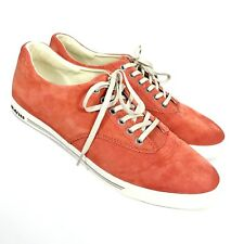SeaVees Mens12  08/63 Hermosa Plimsoll Riv Picante Leather Suede Sneakers