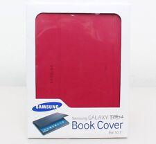 Genuine Samsung Book Folio Folding Cover for Samsung Galaxy Tab 4 10.1 Red New
