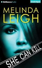 SHE CAN KILL unabridged audio book on CD by MELINDA LEIGH - Brand New! 9 Hours