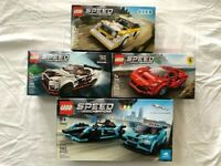 Lego Speed Champions lot (4 SETS) 76895 76896 76897 76898 ALL NEW IN MINT BOXES