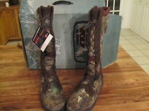 """Rocky Rattler Hunting 16"""" H Hunting Boots - TImber"""