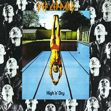 DEF LEPPARD (  NEW SEALED CD  ) HIGH 'N' DRY  / HIGH AND DRY