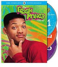 Fresh Prince Of Bel Air Season 5 UK Region 2 (English Cover) 3 DVD BOX SET NEW