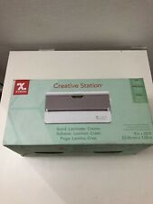 Xyron 624632 Creative Station- 9in X 25ft with Permanent Adhesive- Open Box