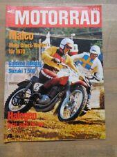 Motorrad 70/04 Suzuki T500 - Maico MC 125 - 250 - 400