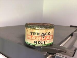 Texaco Marfak Early One Pound Grease Tin