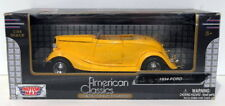 Motor Max 1/24 Scale Diecast 73200AC - 1934 Ford - Yellow