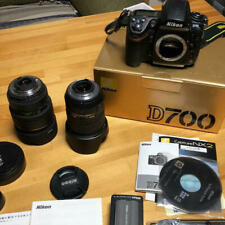 Nikon D700 full size SLR digital camera 2 lens set