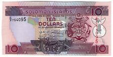 **   SALOMON  Islands     10  dollars  2008   p-27b    UNC   **