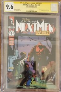 Next Men # 21 CGC 9.6 1st full color appearance Hellboy Signed Mike Mignola