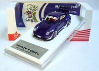 "1:64 FUELME RAUH-Welt PORSCHE 911 (993) RWB ""Army Girl"" purple Limited Edition !"