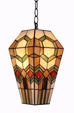 Lo stile Tiffany Luce Da Soffitto (100% Autentico Vetro colorato)