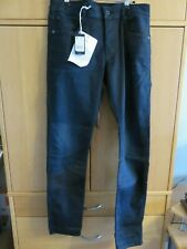 G Star 3301 Slim Brooklyn Denim Jeans - Black - W33, L34 - NEW + Tags - RRP £80