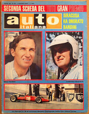 Auto Italiana - Giugno 1967 - Auto giapponesi - Sistema cronometraggio Omega