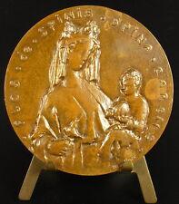 Médaille Église Saint-Séverin Flos de spina spina carens Virgin Maria Medal