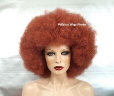 Super Nice JUMBO AFRO Wig .. UNISEX for Men and Women.  AUBURN