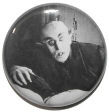 "1"" (25mm) Nosferatu Bed Scene 1922 Horror Movie Button Badge Pin - High Quality"
