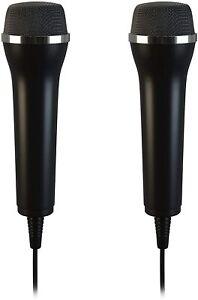 Wii - 2 x Lioncast USB Mikrofon - (NEU)
