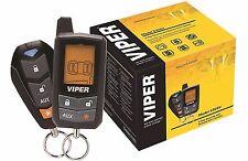 VIPER 5305V +2YR WARANTY LCD VEHICLE CAR ALARM KEYLESS ENTRY REMOTE START SYSTEM