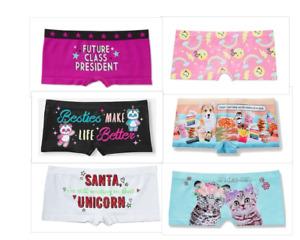 Big Girls Stripe Panties Castle Boyshort Balloon Bikini for Children