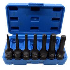 """7 Piece 3/8"""" Drive Impact Torx Star Bits Socket Set T20 T25 T30 T40 T50 T55 T60"""