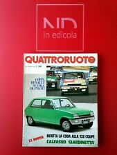 QUATTRORUOTE 233 MAGGIO 1975 - AUDI 50 LS  ALFASUD GIARDINETTA  FIAT 128 COUPE'
