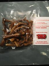 15 X Natural Chicken Feet Dog Treats Air Dried Rewards Chews snacks Fresh Packed