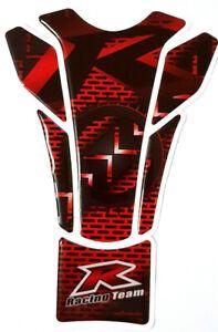Tankpad Tankschutz R Motorrad universal Suzuki Yamaha Honda Racing Rot Schutzpad
