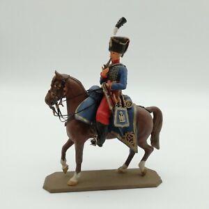 Historex 54mm cavalier empire monté et peint
