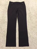 THE LIMITED Studio 400 CASSIDY FIT size 0 DARK BROWN DRESS PANTS FZ5