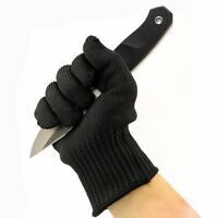 1 Pair Stainless Steel Wire Safety Anti-Slash Cut Proof Static Resistance Gloves