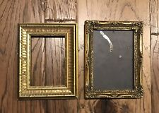New Listing2 Vintage Ornate Gold Wood Picture Frames