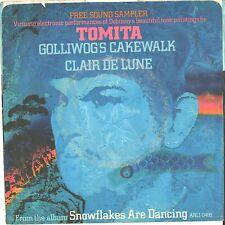 TOMITA--PICTURE SLEEVE + 45--(GOLLIWOG'S CAKEWALK)--PS--PIC--SLV