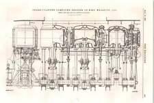 1898 Hms Sphinx Compound Engines Hms Warspite