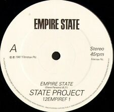 "STATE PROJECT empire state/YELLO vicious games/NEW ORDER murder 12"" WS EX/"