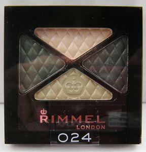 Rimmel London Glam Eyes Quad Eye Shadow - Green Sapphire #024