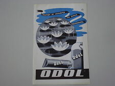 advertising Pubblicità 1942 DENTIFRICIO ODOL