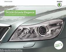 Prospekt Skoda Octavia Elegance Ausstattungspaket Licht Design 12 11 2011 Auto