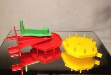1963 IDEAL MOUSETRAP ORIGINAL GAME PARTS: GEARS & HANDLE LOT/ LOOSE/ PRE OWNED