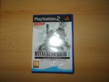 Videojuegos Metal Gear Solid Sony PlayStation 2 PAL