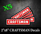 X5 Craftsman Tools Usdm Tool Box Truck Window Decal Sticker Vinyl Laptop Merica