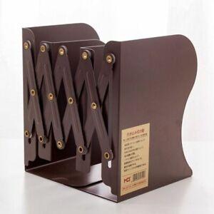 Expandable Bookend Adjutable Desktop Metal Book Rack Hand Coating Used in School